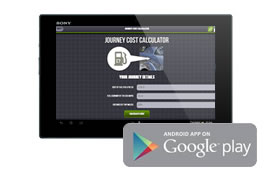 Android Journey Cost Calculator