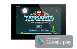 Android Fat Santa Game